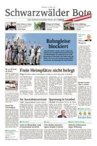 Schwarzwälder Bote Hechingen - 24. Juni 2019
