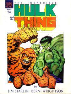 Marvel Graphic Novel 29 - Hulk  Thing - The Big Change 1987