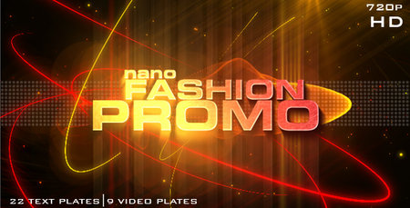 Videohive Nano Fashion Promo - After Effects Project