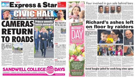 Express and Star City Edition – March 05, 2019