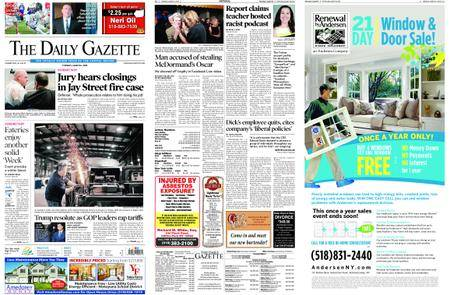 The Daily Gazette – March 06, 2018