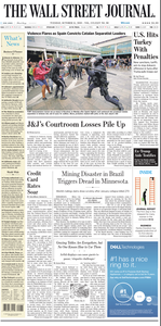 The Wall Street Journal – 15 October 2019