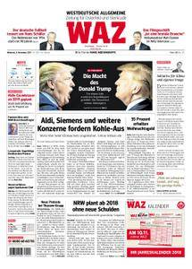 WAZ Westdeutsche Allgemeine Zeitung Oberhausen-Sterkrade - 08. November 2017