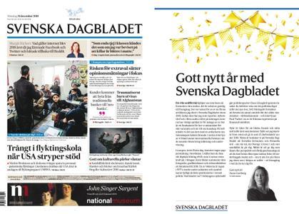Svenska Dagbladet – 31 december 2018