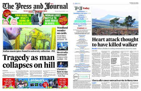 The Press and Journal Moray – March 29, 2018