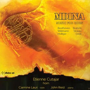 Etienne Cutajar, Carmine Lauri & John Reid - Mdina: Music for Horn (2019) [Official Digital Download 24/96]