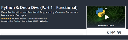 Udemy - Python 3: Deep Dive (Part 1 - Functional)