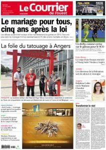 Le Courrier de l'Ouest Angers - 12 mai 2018