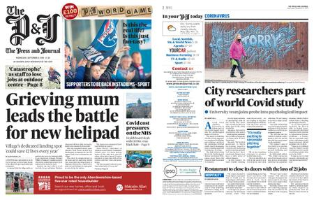 The Press and Journal Moray – September 09, 2020