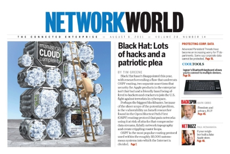 Network World - 08 August 2011