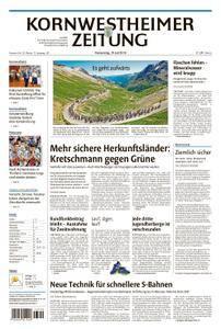 Kornwestheimer Zeitung - 19. Juli 2018