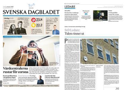 Svenska Dagbladet – 14 mars 2020