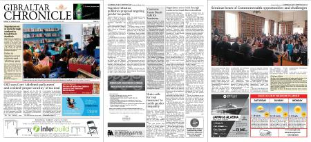 Gibraltar Chronicle – 08 March 2019