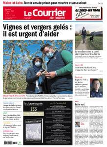Le Courrier de l'Ouest Cholet – 17 avril 2021