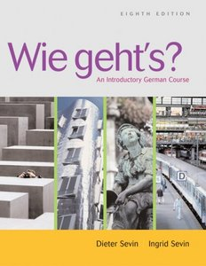 Wie geht's?: An Introductory German Course , 8 edition