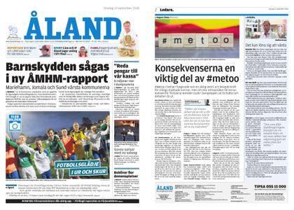 Ålandstidningen – 12 september 2018