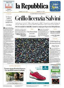 la Repubblica - 19 Agosto 2019