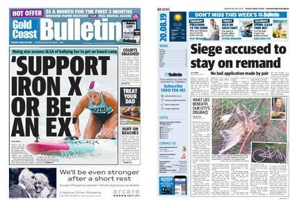The Gold Coast Bulletin – August 20, 2019