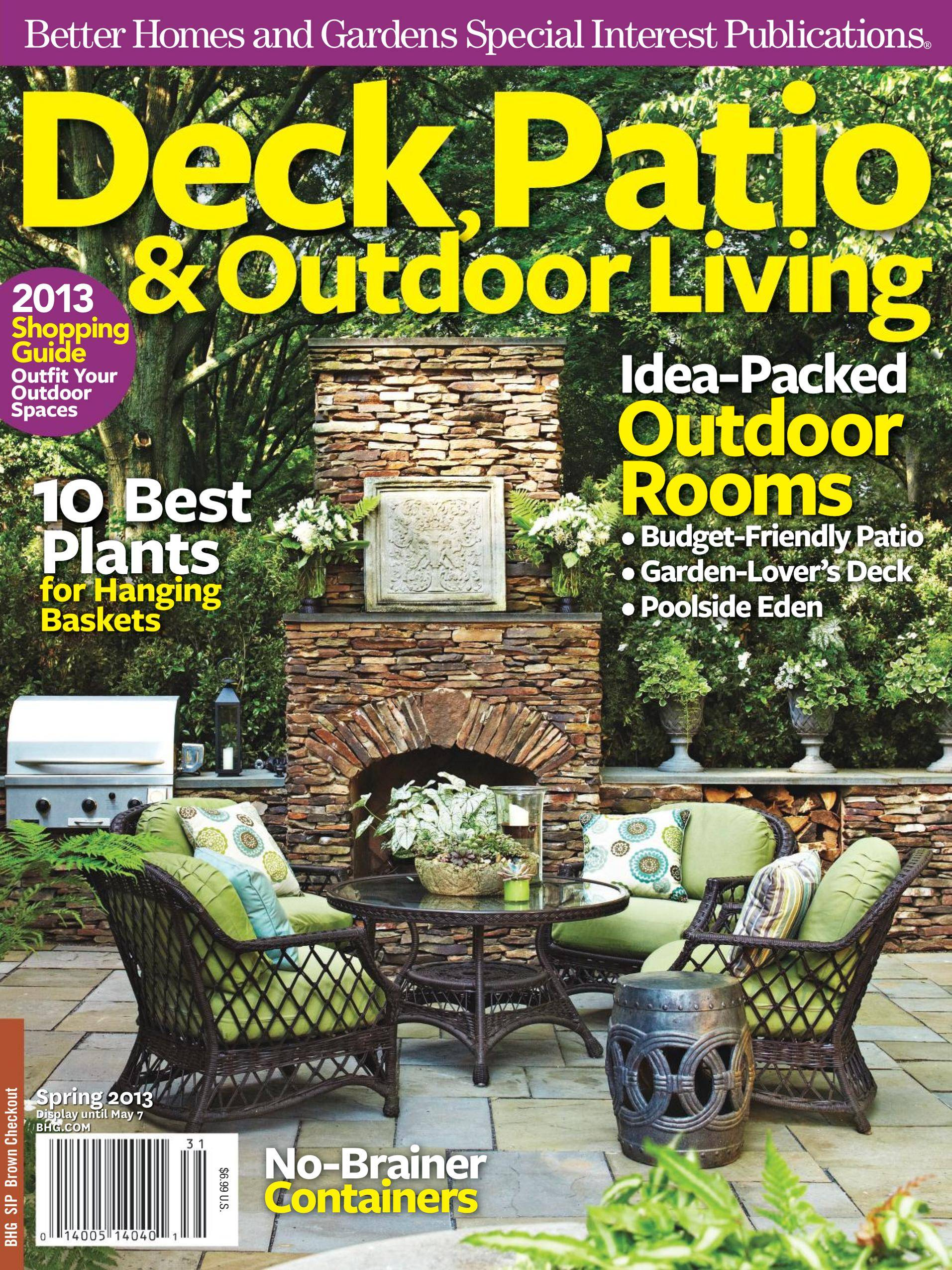 Deck, Patio & Outdoor Living - March 01, 2013