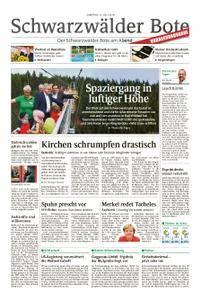 Schwarzwälder Bote Hechingen - 21. Juli 2018