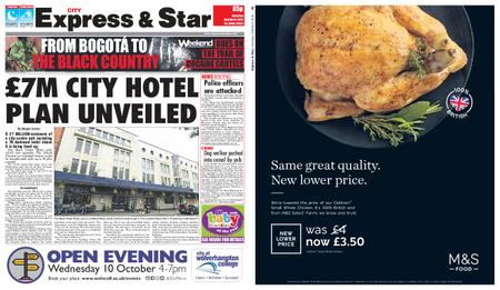 Express and Star City Edition – October 06, 2018