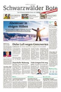 Schwarzwälder Bote Hechingen - 26. Januar 2019