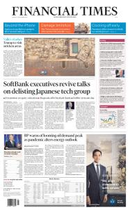 Financial Times Asia - September 14, 2020