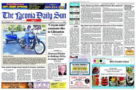 The Laconia Daily Sun – September 14, 2018