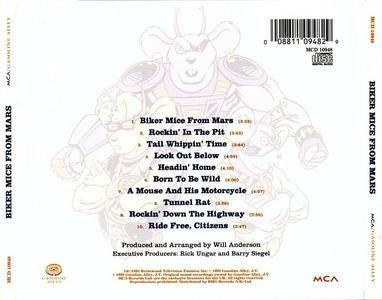 Biker Mice From Mars - s/t (1993) {Gasoline Alley/MCA}