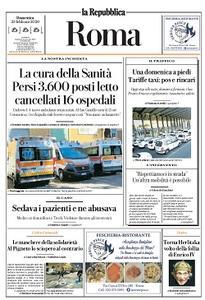 la Repubblica Roma - 23 Febbraio 2020