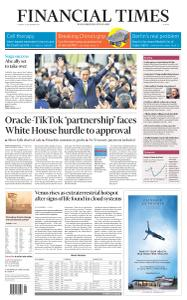 Financial Times Europe - September 15, 2020