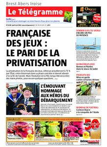 Le Télégramme Brest Abers Iroise – 06 juin 2019