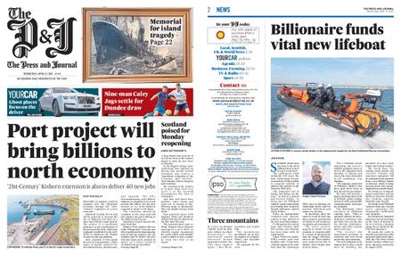 The Press and Journal Moray – April 21, 2021