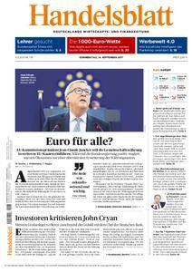 Handelsblatt - 14. September 2017