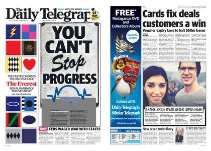 The Daily Telegraph (Sydney) – October 10, 2017