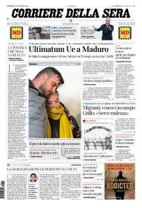 Corriere della Sera – 27 gennaio 2019