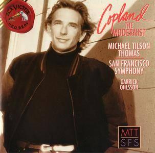 Michael Tilson Thomas, San Francisco Symphony, Garrick Ohlsson - Aaron Copland The Modernist (1996)