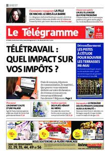 Le Télégramme Brest – 22 avril 2021