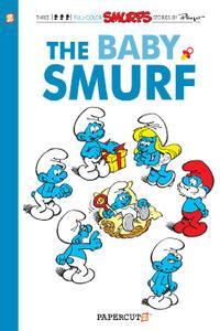 Papercutz-Smurfs Vol 14 The Baby Smurf 2013 Hybrid Comic eBook