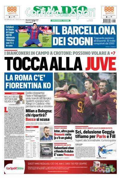Corriere dello Sport Edizioni Locali - 8 Febbraio 2017