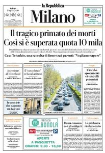 la Repubblica Milano - 11 Aprile 2020