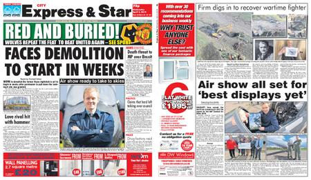Express and Star City Edition – April 03, 2019