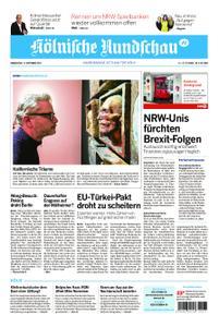 Kölnische Rundschau Wipperfürth/Lindlar – 12. September 2019
