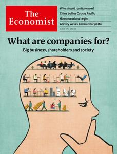 The Economist Continental Europe Edition - August 24, 2019