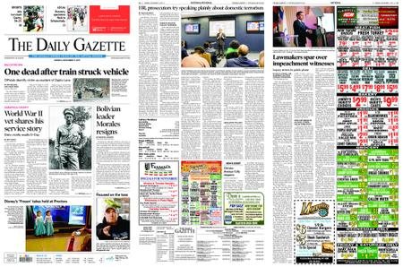 The Daily Gazette – November 11, 2019