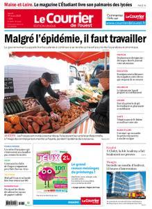 Le Courrier de l'Ouest Angers – 19 mars 2020