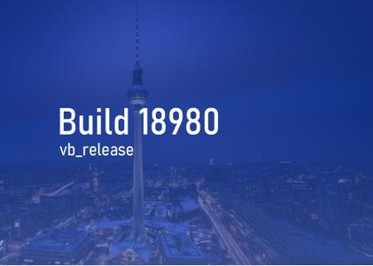 Windows 10 Insider Preview (20H1) Build 18980.1
