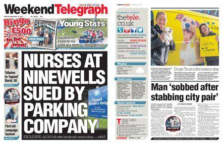 Evening Telegraph First Edition – September 16, 2017