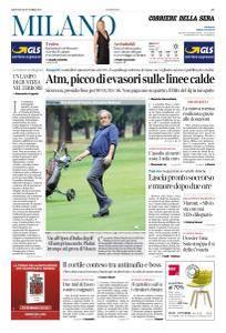 Corriere della Sera Milano - 12 Ottobre 2017