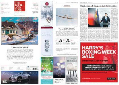 The Globe and Mail – December 23, 2017